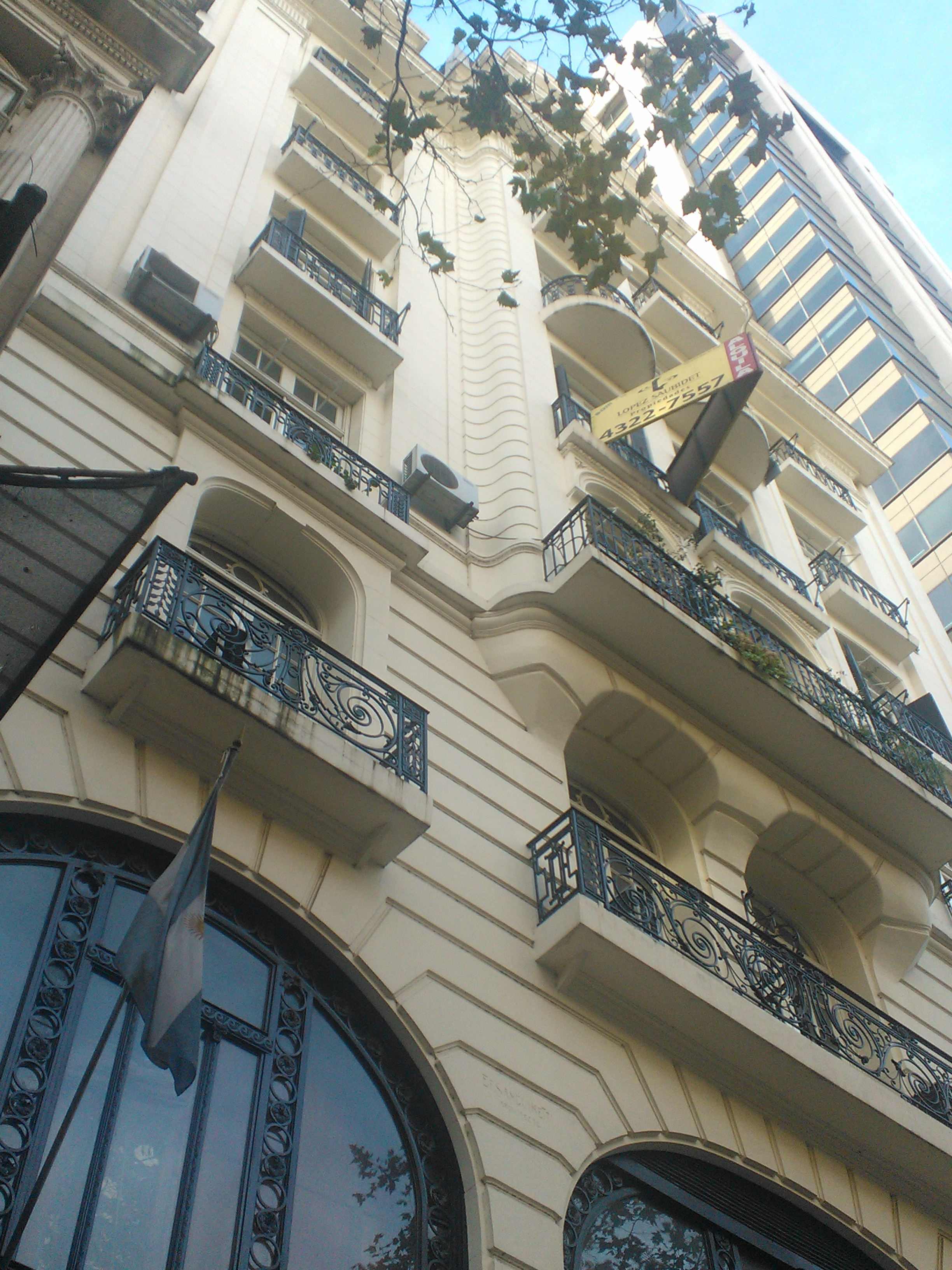 Old Palace transformed into apartments, Buenos Aires