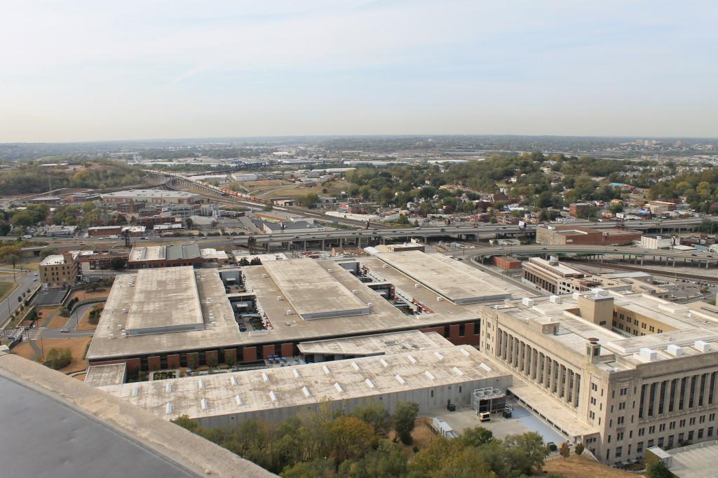 Urban corridor in Kansas City, MO; photograph by Martin Seliger