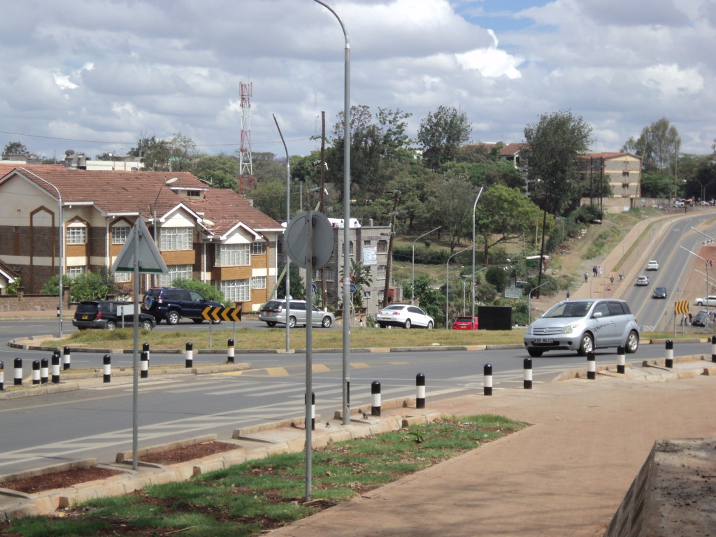 The recently constructed 'Missing Links' Roads in Nairobi
