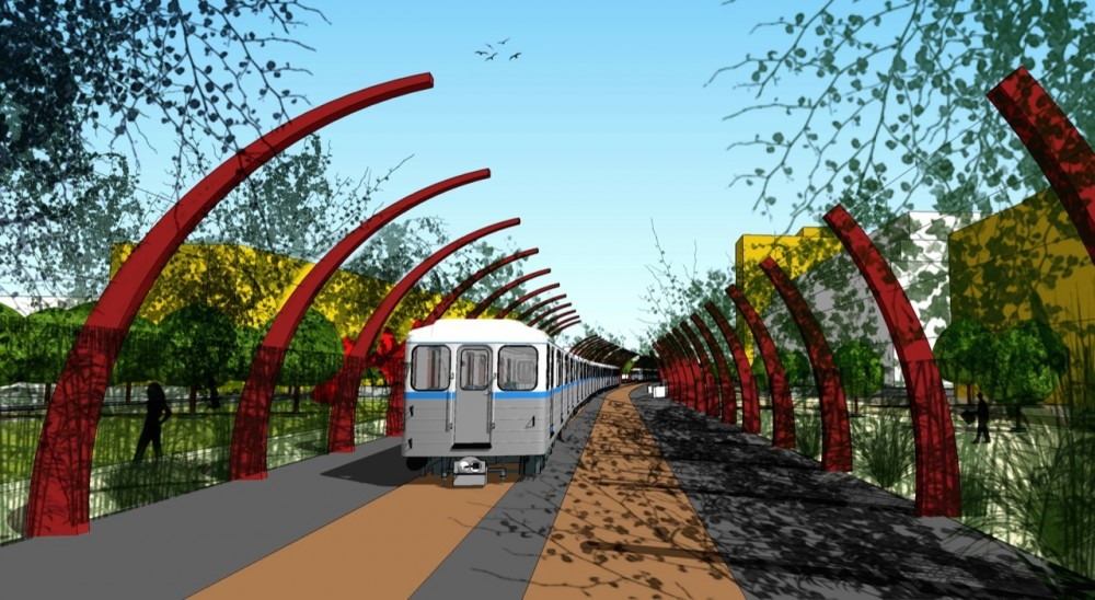 Railway intervention project, Buenos Aires