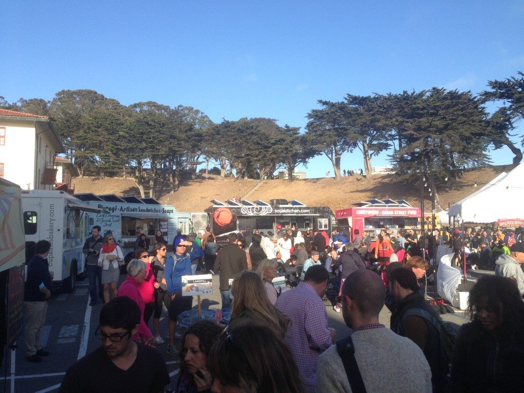 The Crowd, San Francisco, Off the Grid, Food Truck