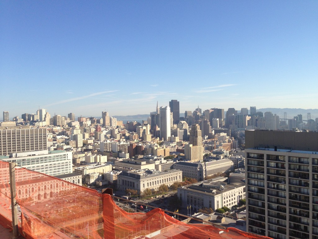 Urban area of San Francisco, California