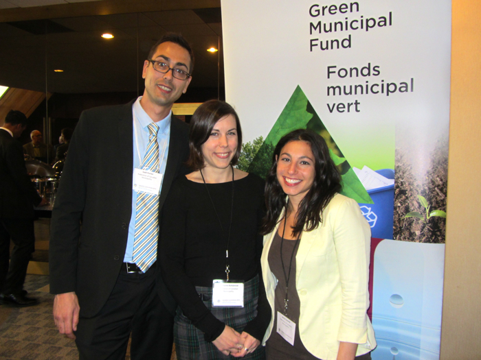 Green Municipal Fund representatives at Canadian Brownfields Conference, Toronto