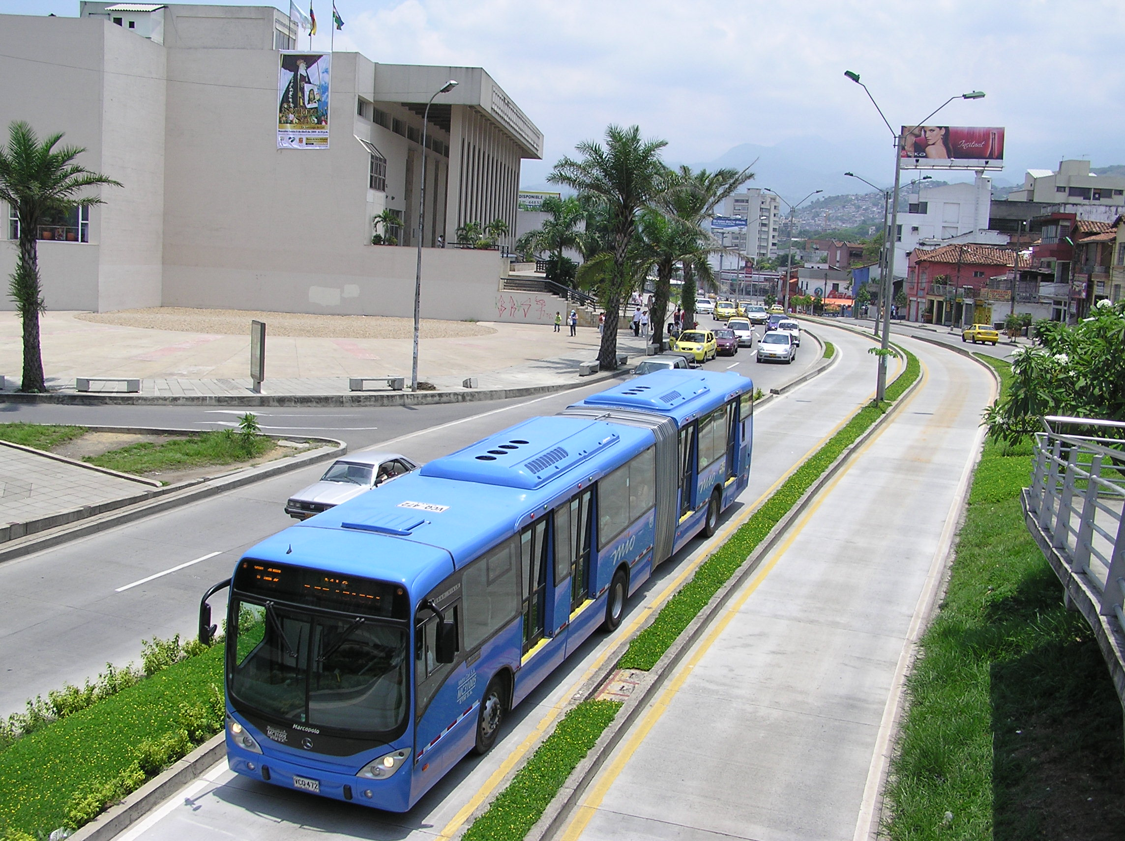 Cali's Bus Rapid Transit, Colombia