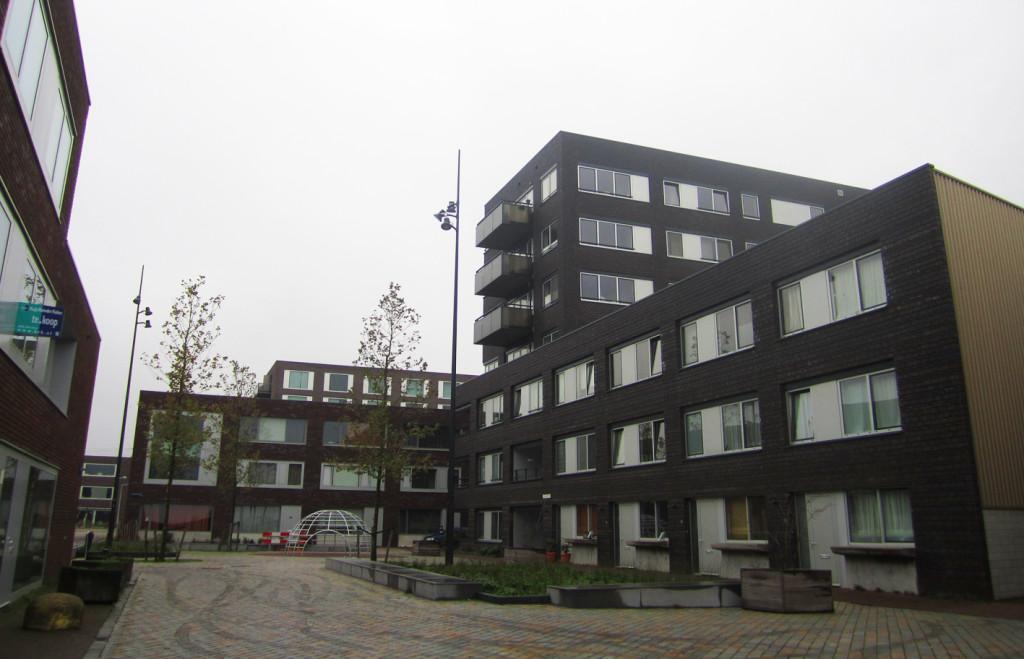 Public space, IJburg, Amsterdam, Netherlands
