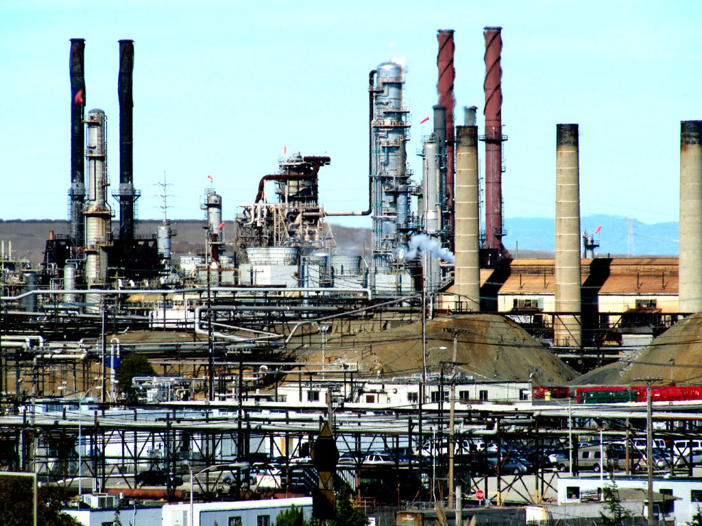 Chevron Refinery in Richmond, CA