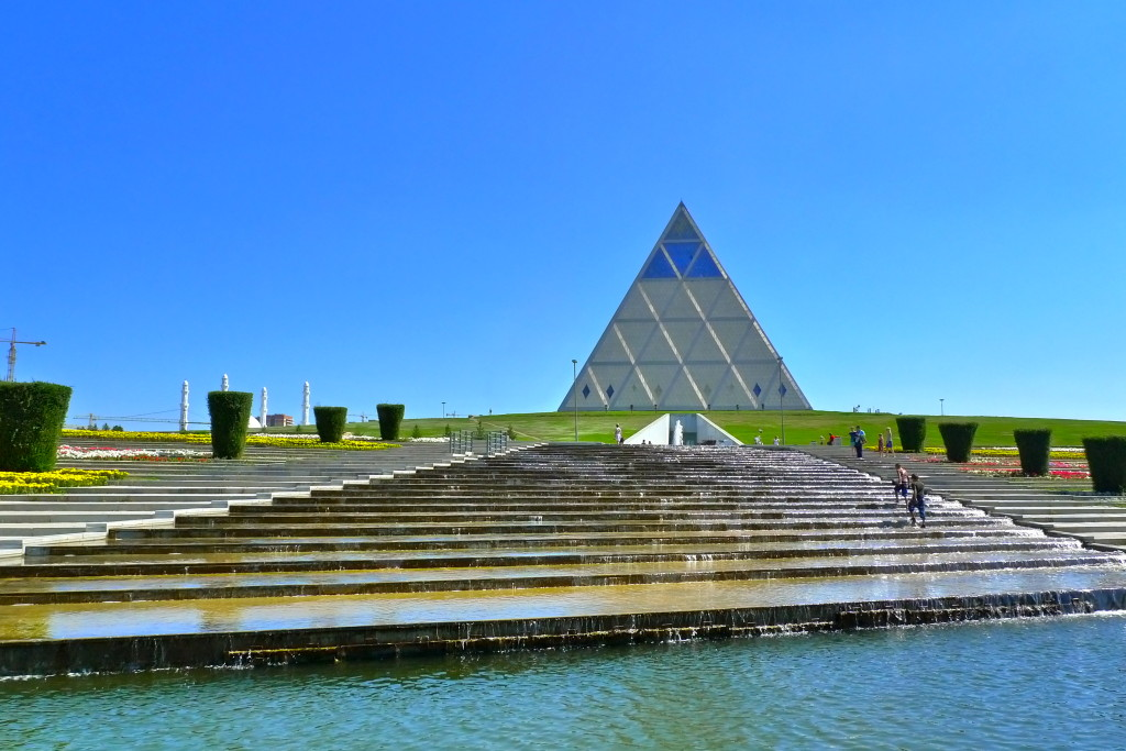 The Pyramid of Peace and Reconciliation; Astana, Kazakhstan