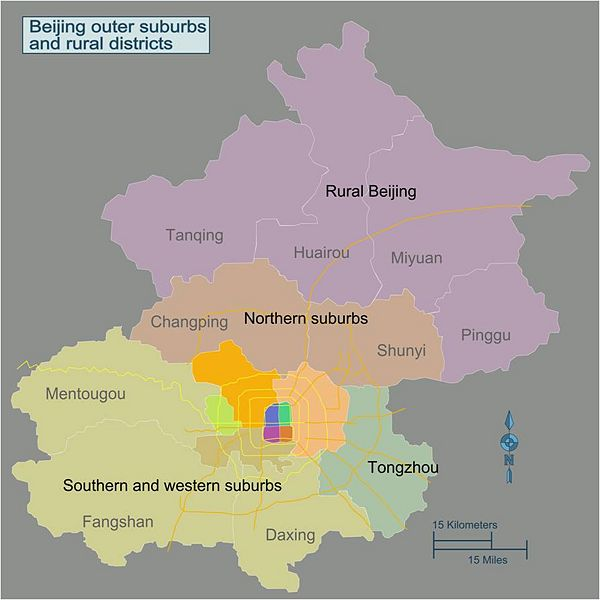 Rural Beijing and Outer Suburbs
