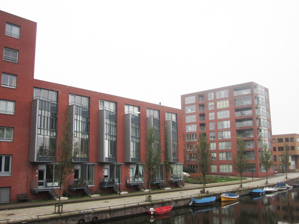 Townhouses and apartments, IJburg, Netherlands