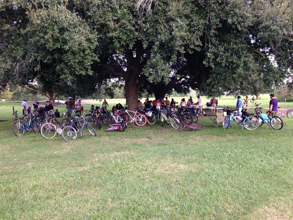 Audubon Park Social Ride, Photo Credit Nola Social Ride New Orleans