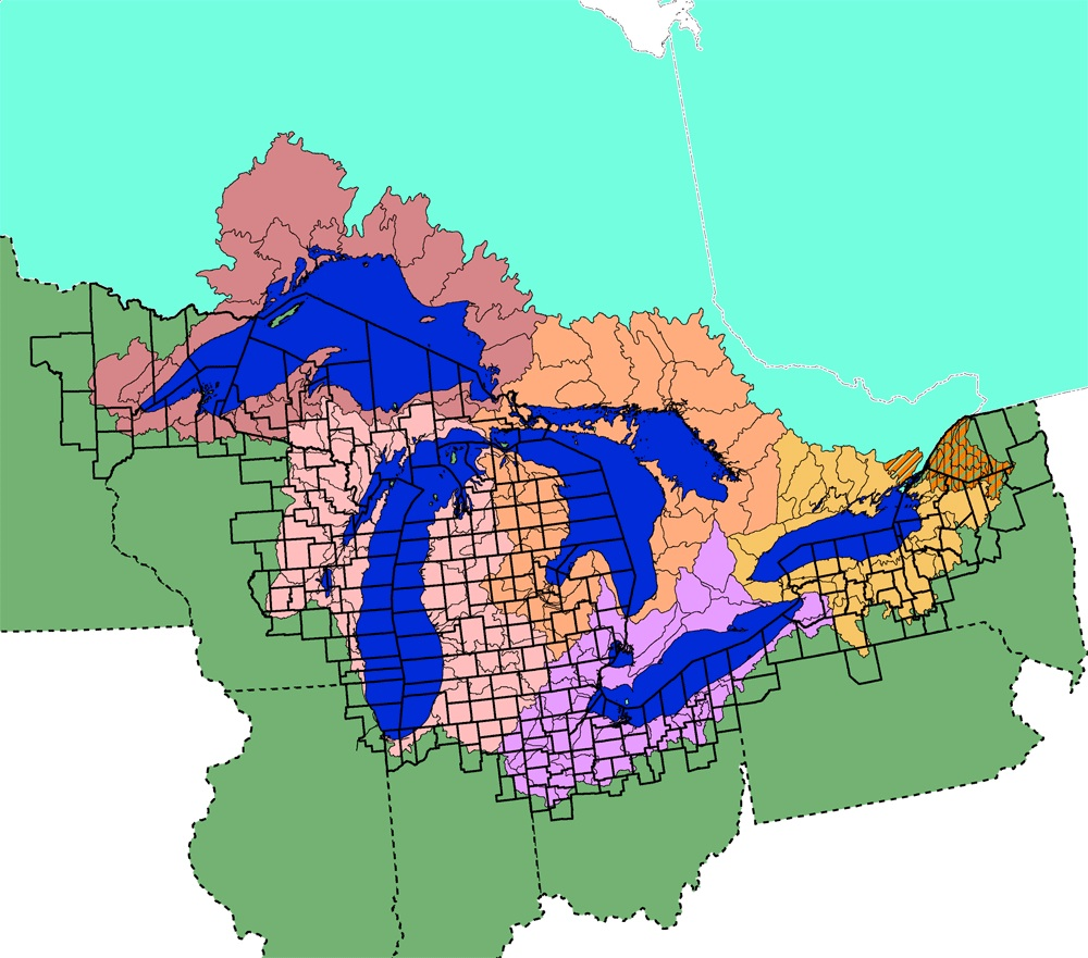 Great Lakes Basin Watershed