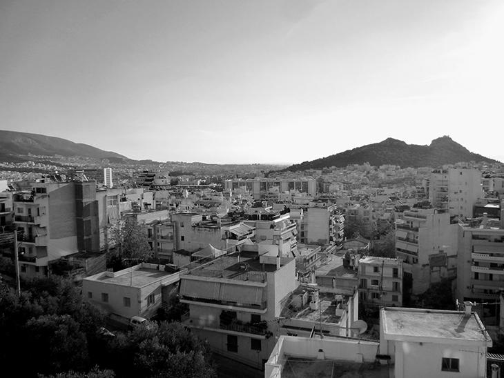 Athens, Greece Homelessness Problem