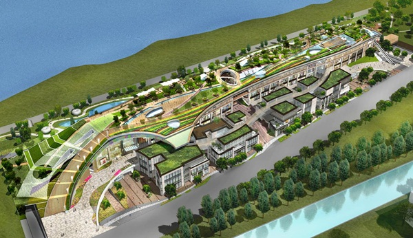 High-Tech Island Proposal, Nanjing