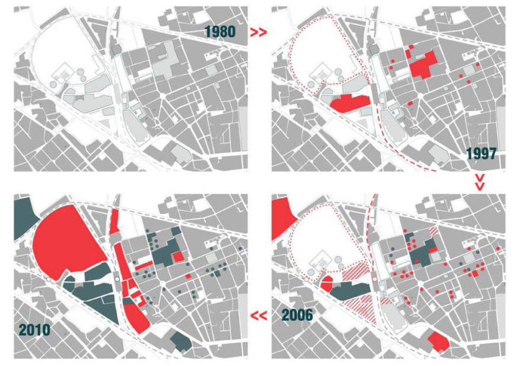 Evolution of Bovisa Area, Milan, Italy