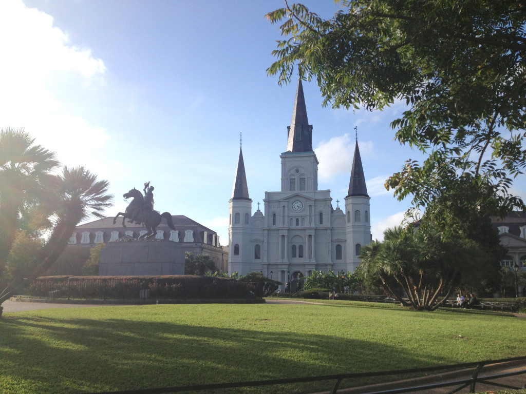 Jackson Square St. Louis Cathedral