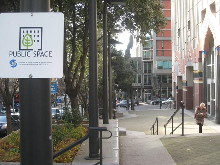 Public Space near the Seattle Art Museum