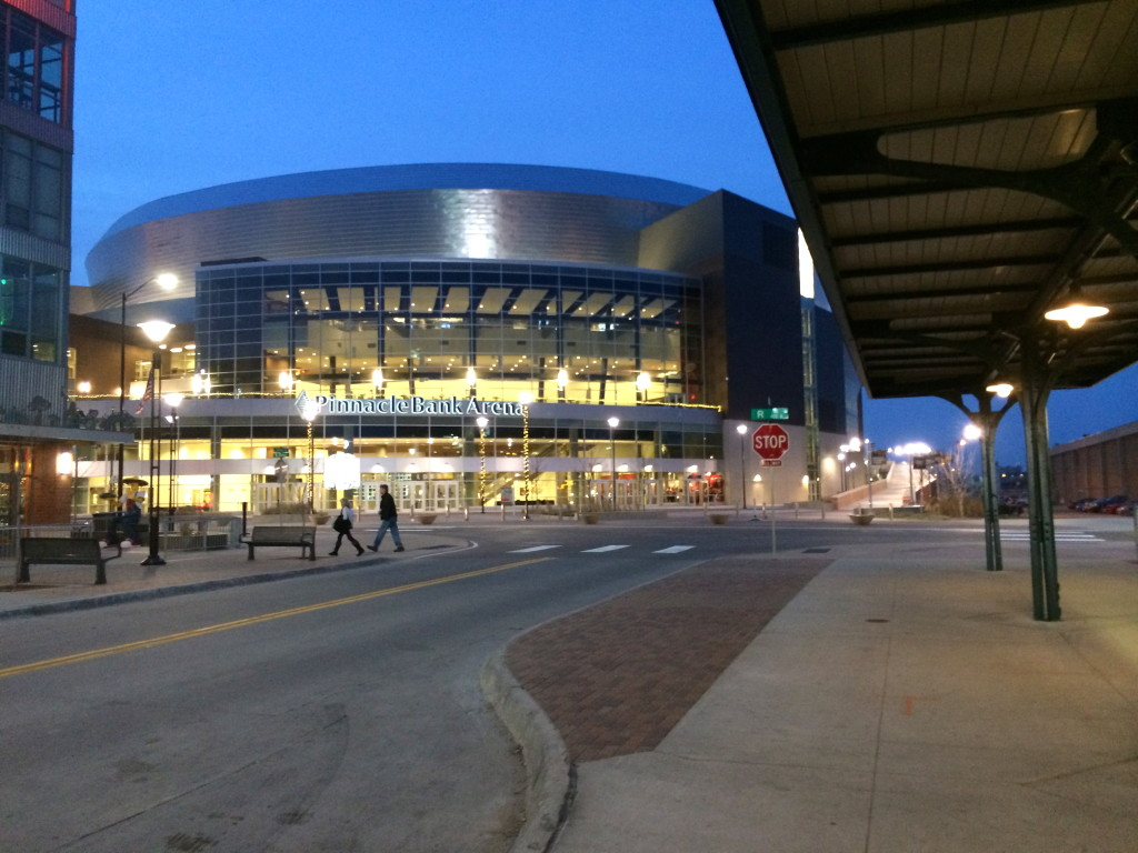 Pinnacle Bank Arena in Lincoln, Nebraska