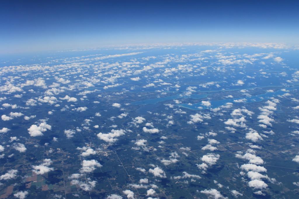 Aerial shot of Kansas City