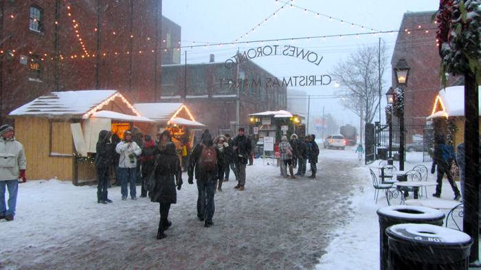 Distillery District 2013 Christmas Market