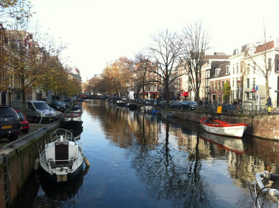 Meryems canal, Amsterdam, Netherlands