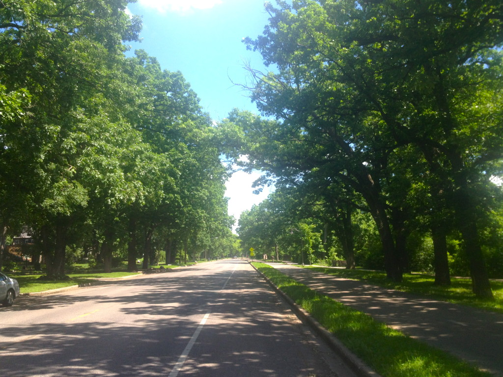 W River Parkway in SE Minneapolis
