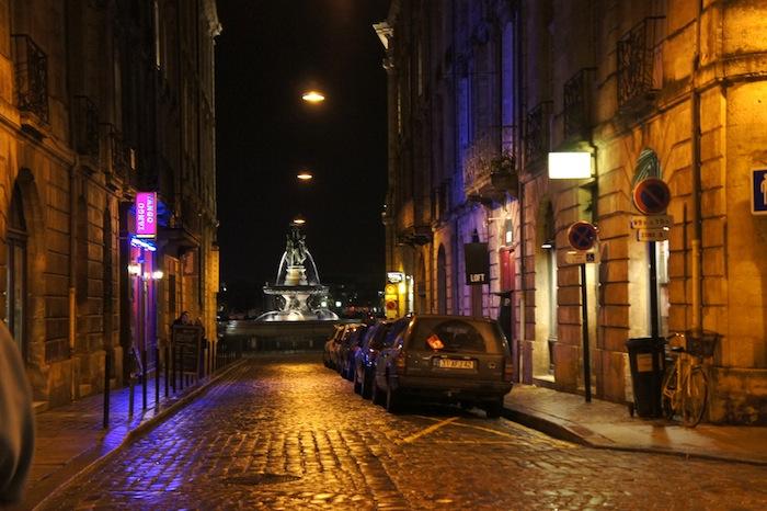 A street in Bordeaux, France.