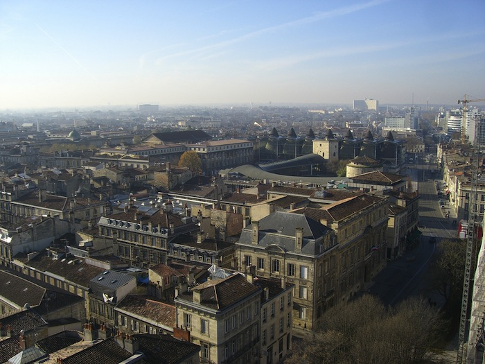 A view of Bordeaux, France