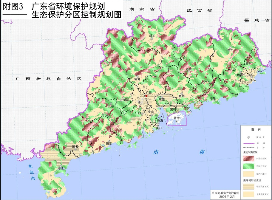 Guangdong Ecological Planning