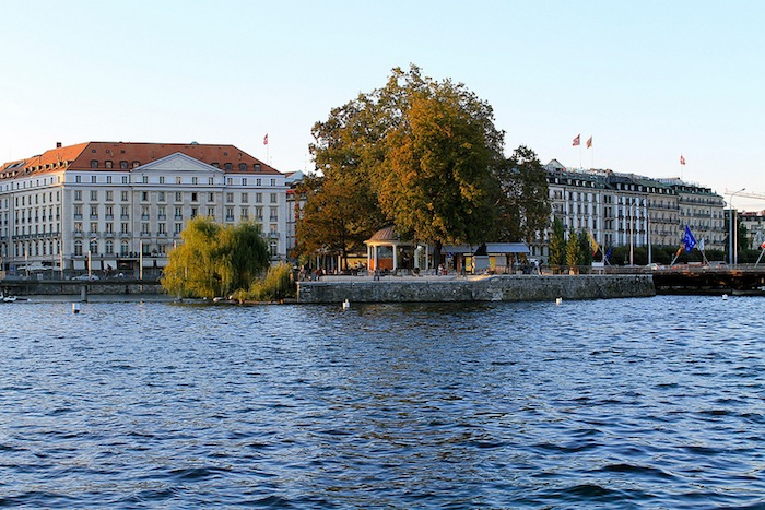 A view of Geneva, Switzerland.