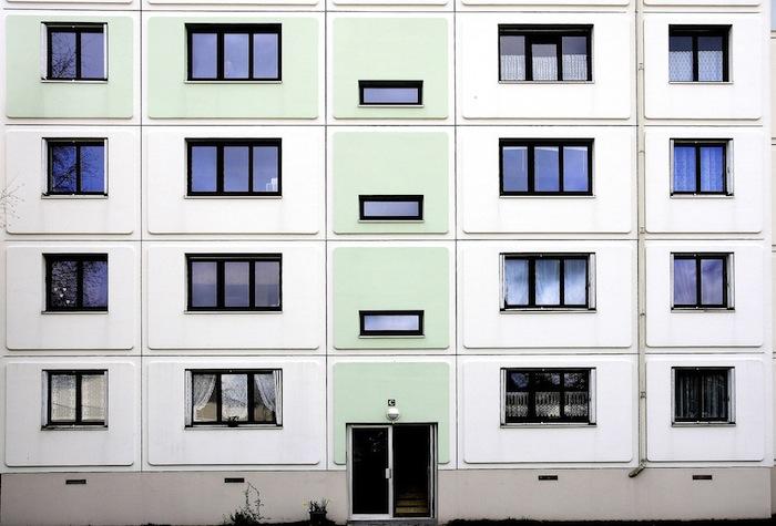 Subsidized housing units in France.