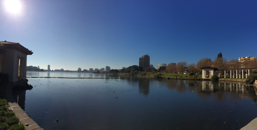 Lake Merritt View in Oakland, Ca.