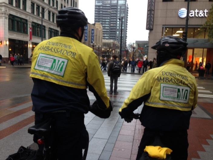 Downtown Ambassadors for the Metropolitan Improvement District, Seattle
