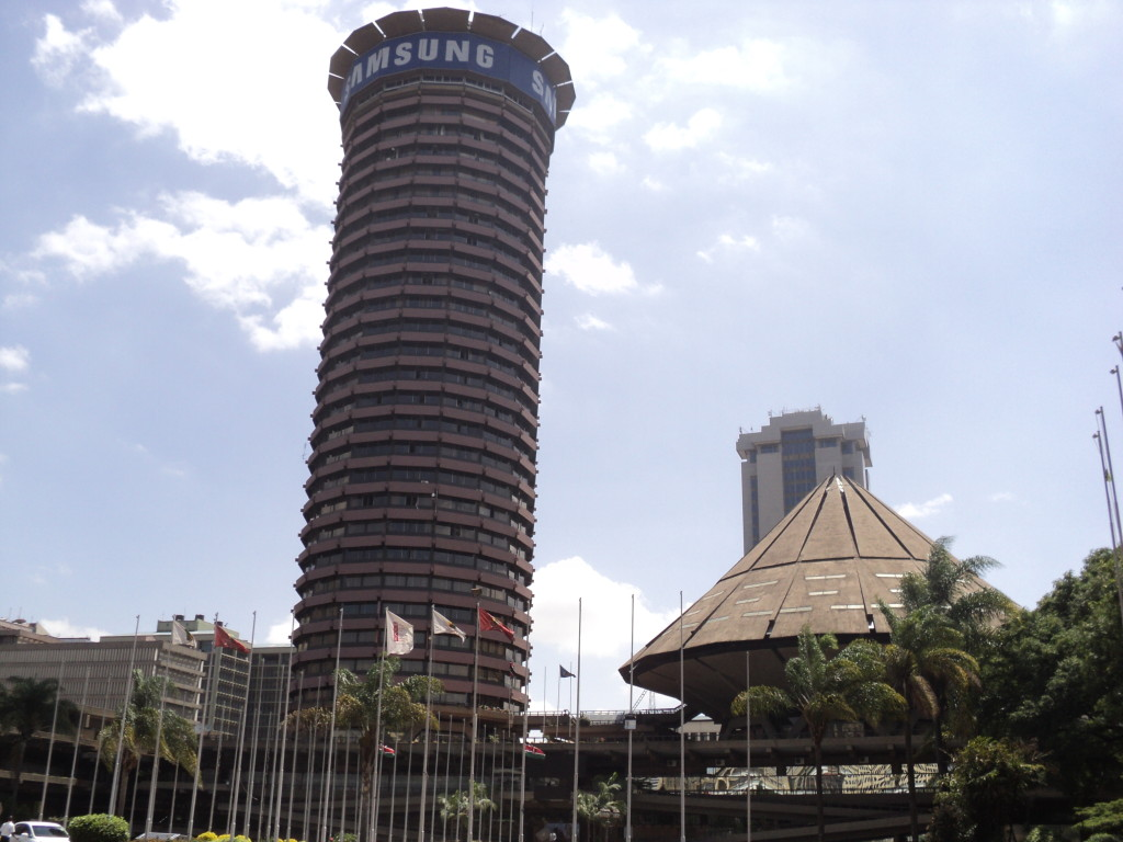 KICC Building with its Electronic Billboard