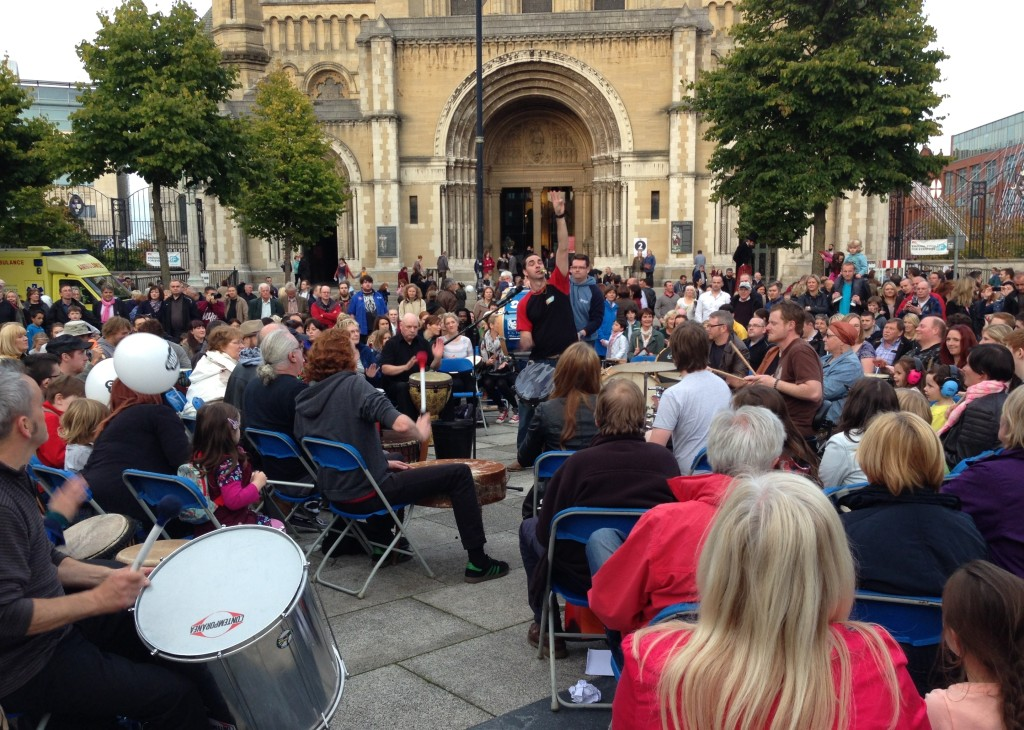Culture Night Drums Belfast 2013