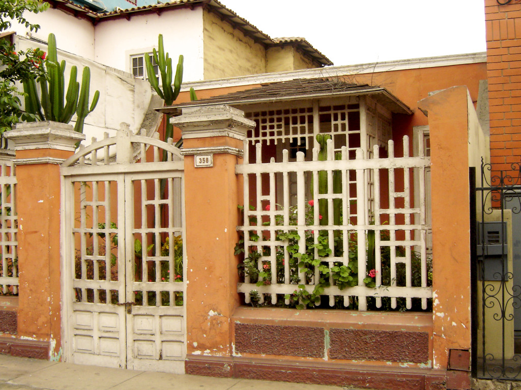 An early 20th century rancho house in Miraflores, Lima, Peru