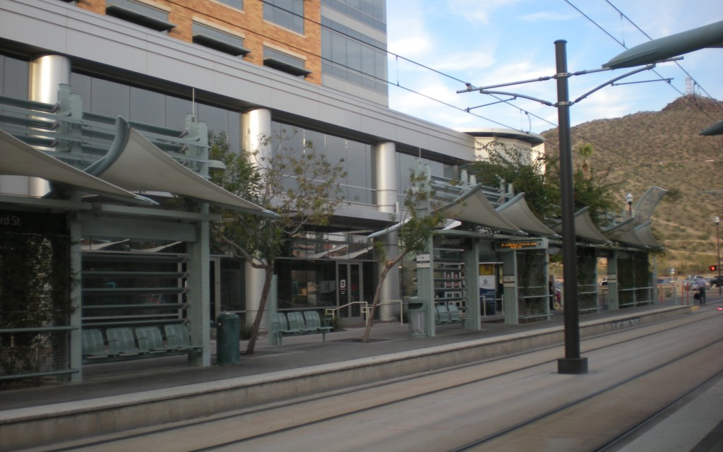 Light Rail Station, Tempe, Arizona