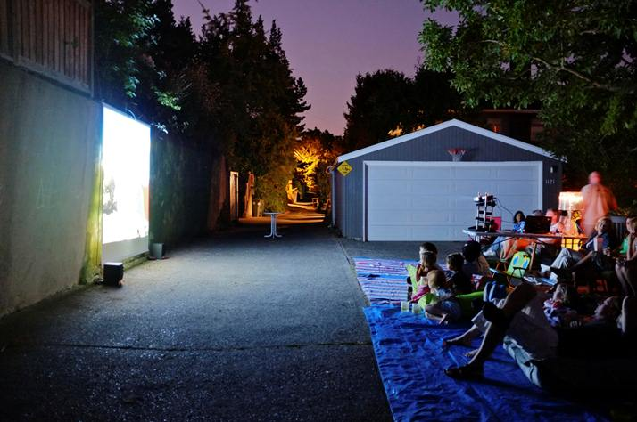 Alley Way Movie Night - Seattle
