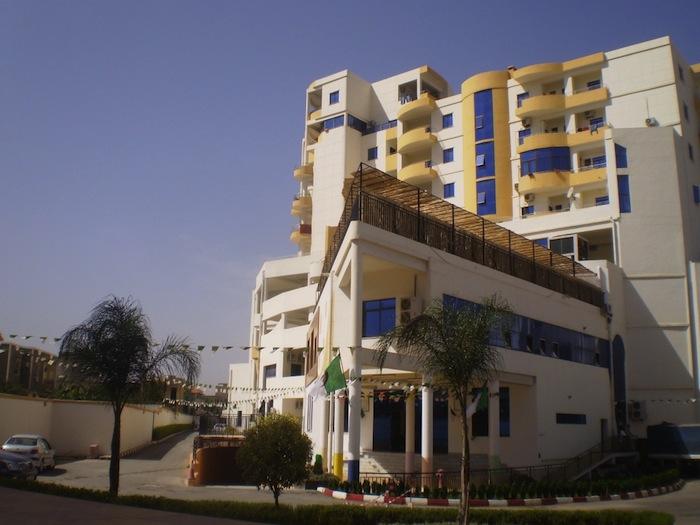 A new building in Blida, Algeria.