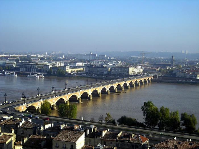 The Rive-Droite area of Bordeaux, France.