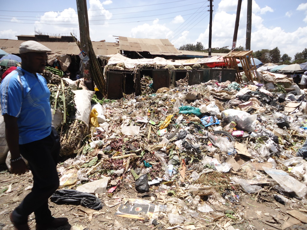 Some Area is set aside for dumping garbage, Nairobi, Kenya