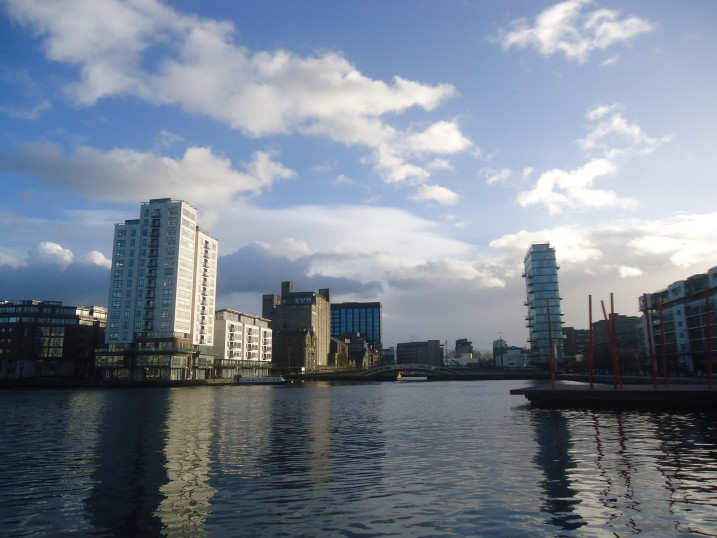 Dublin Grand canal dock