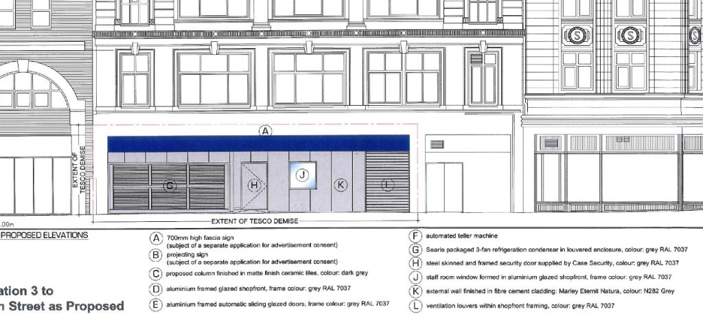 Elevation of Proposed Design