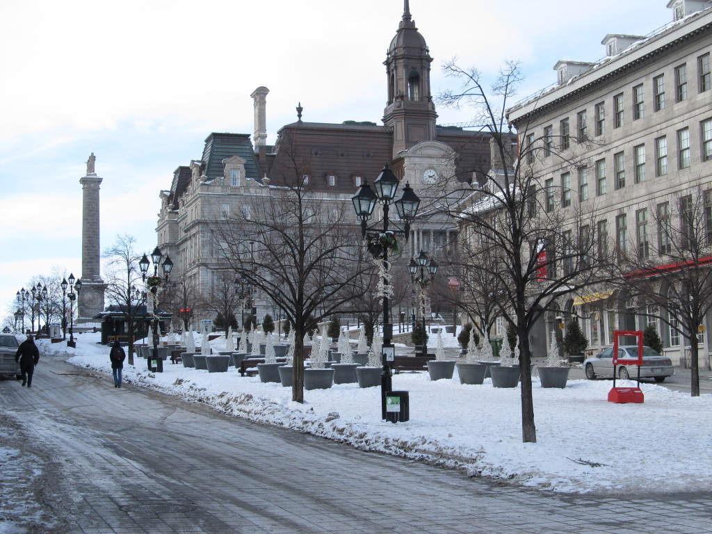 Jacques Cartier Square, Old Montreal, Montreal, Quebec