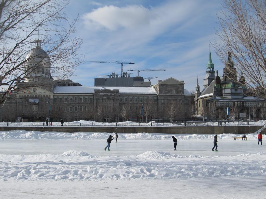 Old Port Skating Rink, Montreal, Quebec