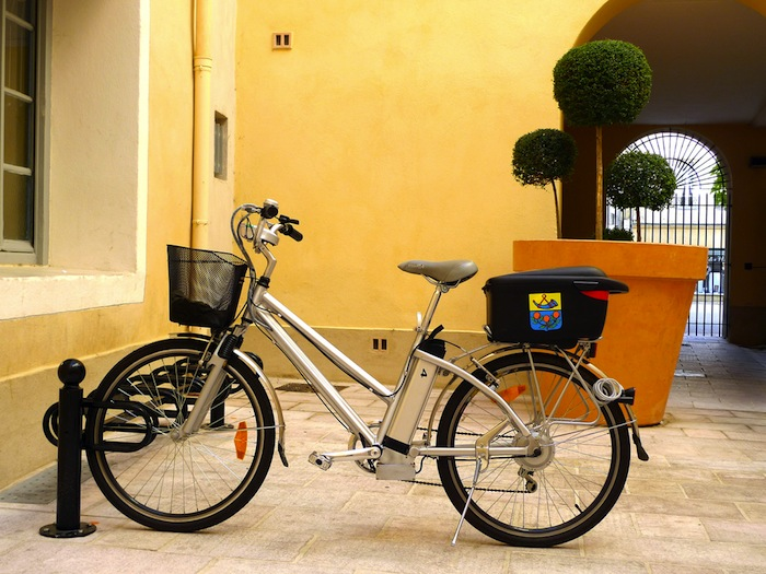 A French electric bicycle