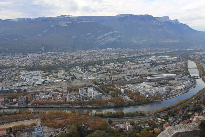 The Presqu'île eco-neighborhood in Grenoble, France
