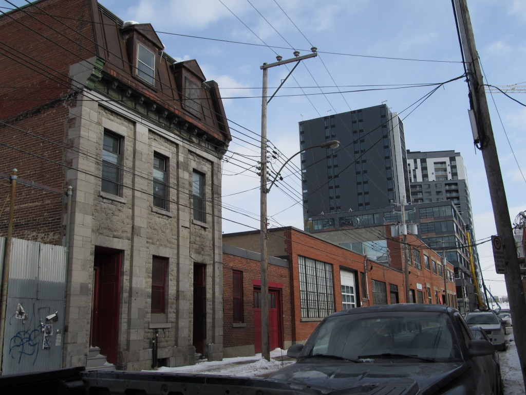 Late 19th Century Home, 20th Century warehouse, and 21st Century Condo in Griffintown, Montreal