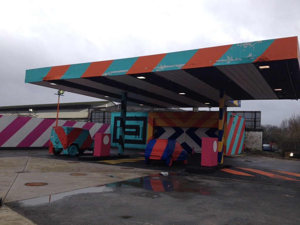 Abandoned Gas Station, 'Upcycled' Cork City, Ireland