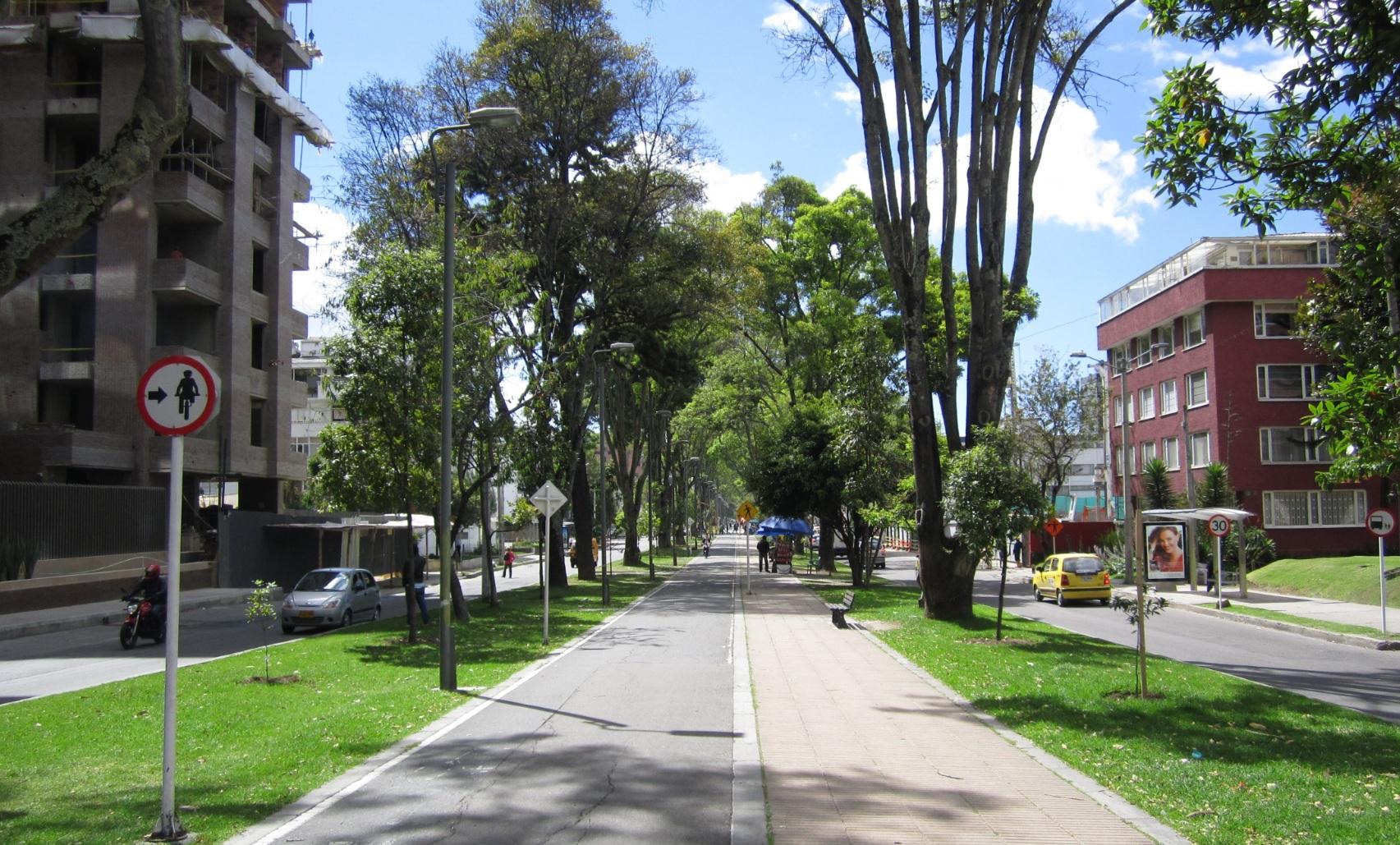 Bike lanes, Colombia Bogota