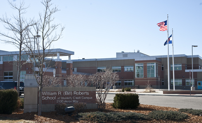 Bill Roberts School in the Stapleton, Denver, Colorado development